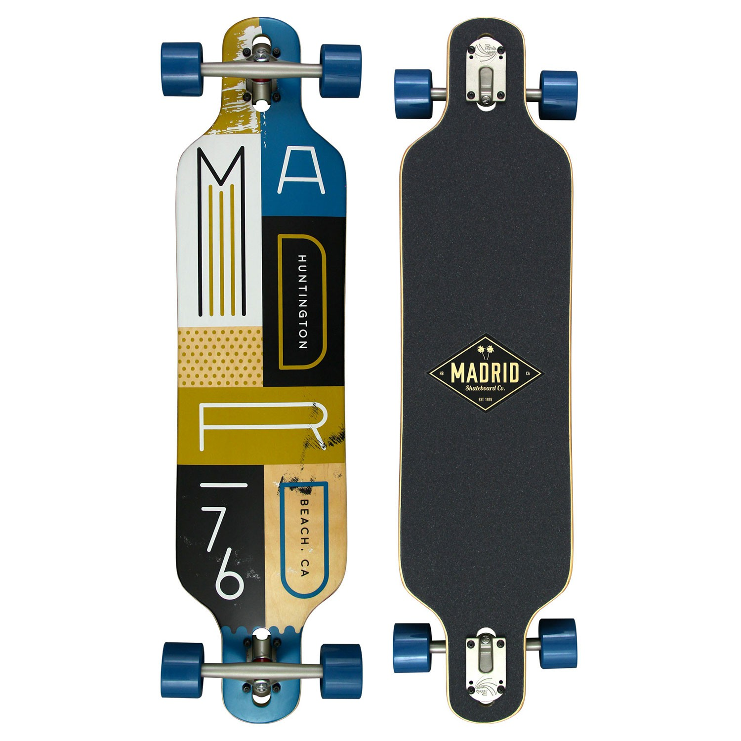 Longboard Madrid Katar Drop-Thru blocks