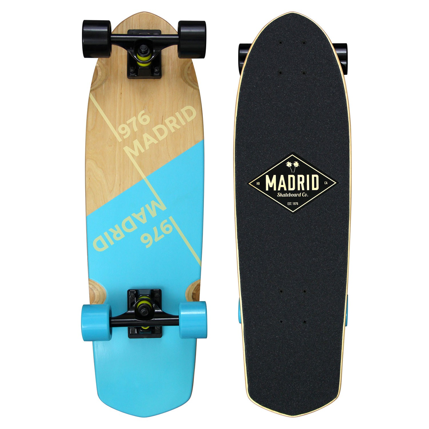 Longboard Madrid Picket slant blue