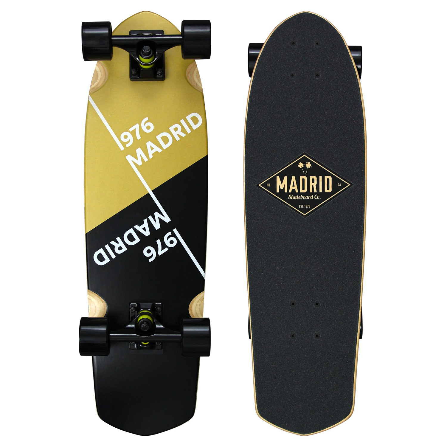 Longboard Madrid Picket slant gold