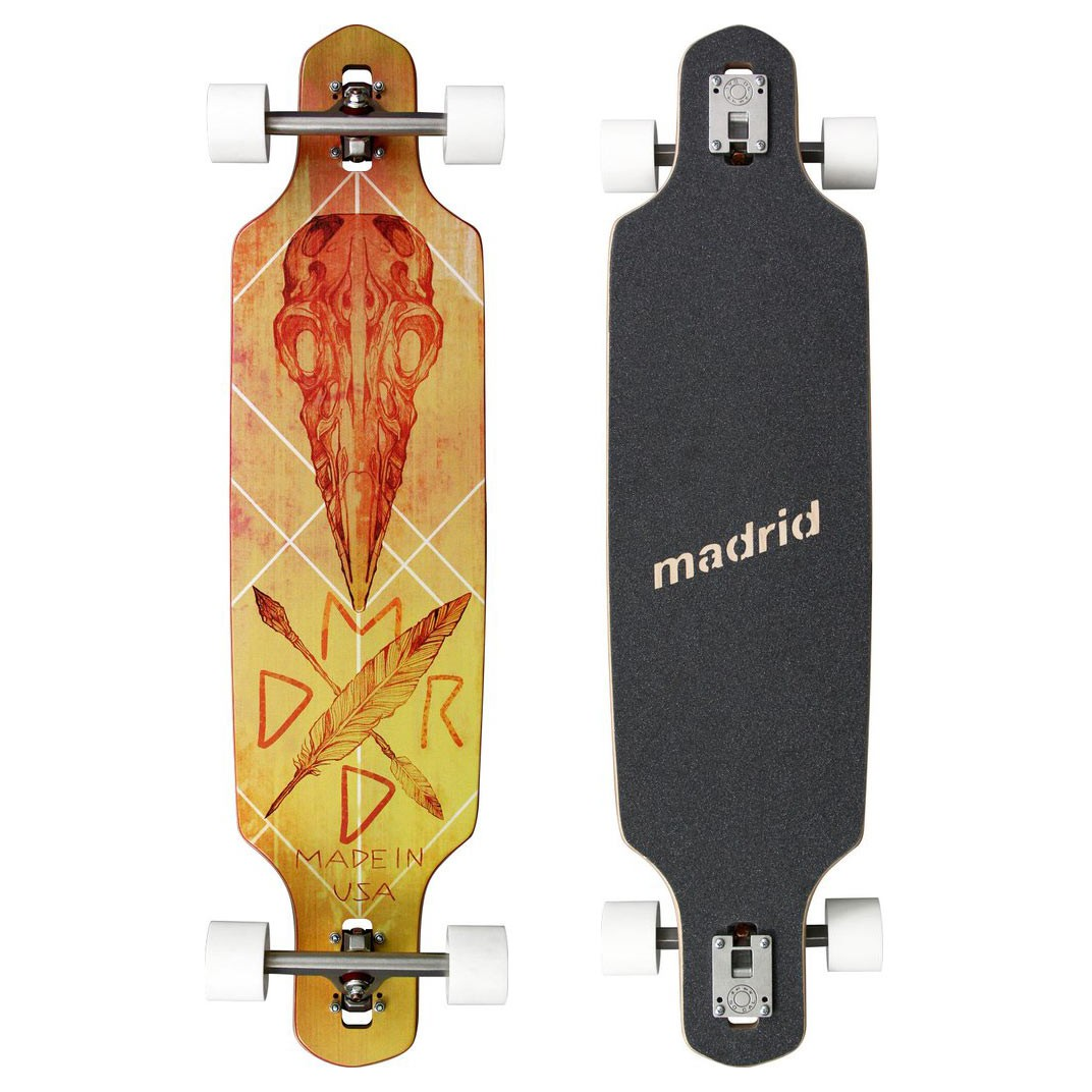 Longboard Madrid Shield crow