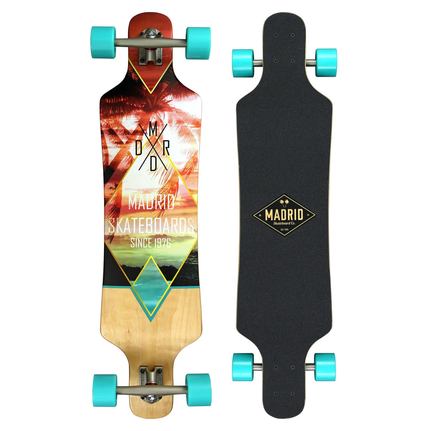Longboard Madrid Spade Top-Mount mirage