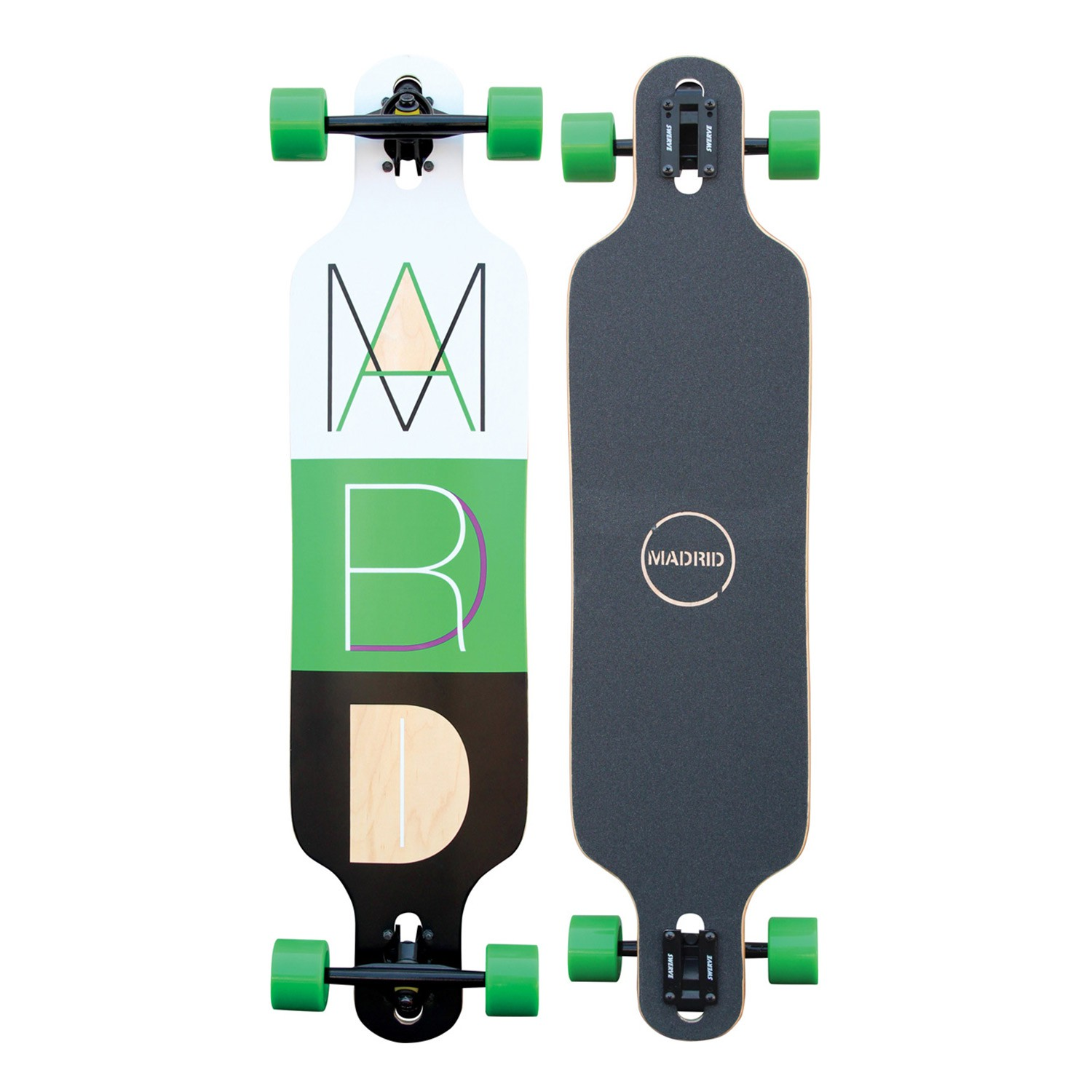 Longboard Madrid Trance Drop-Thru cutout 2
