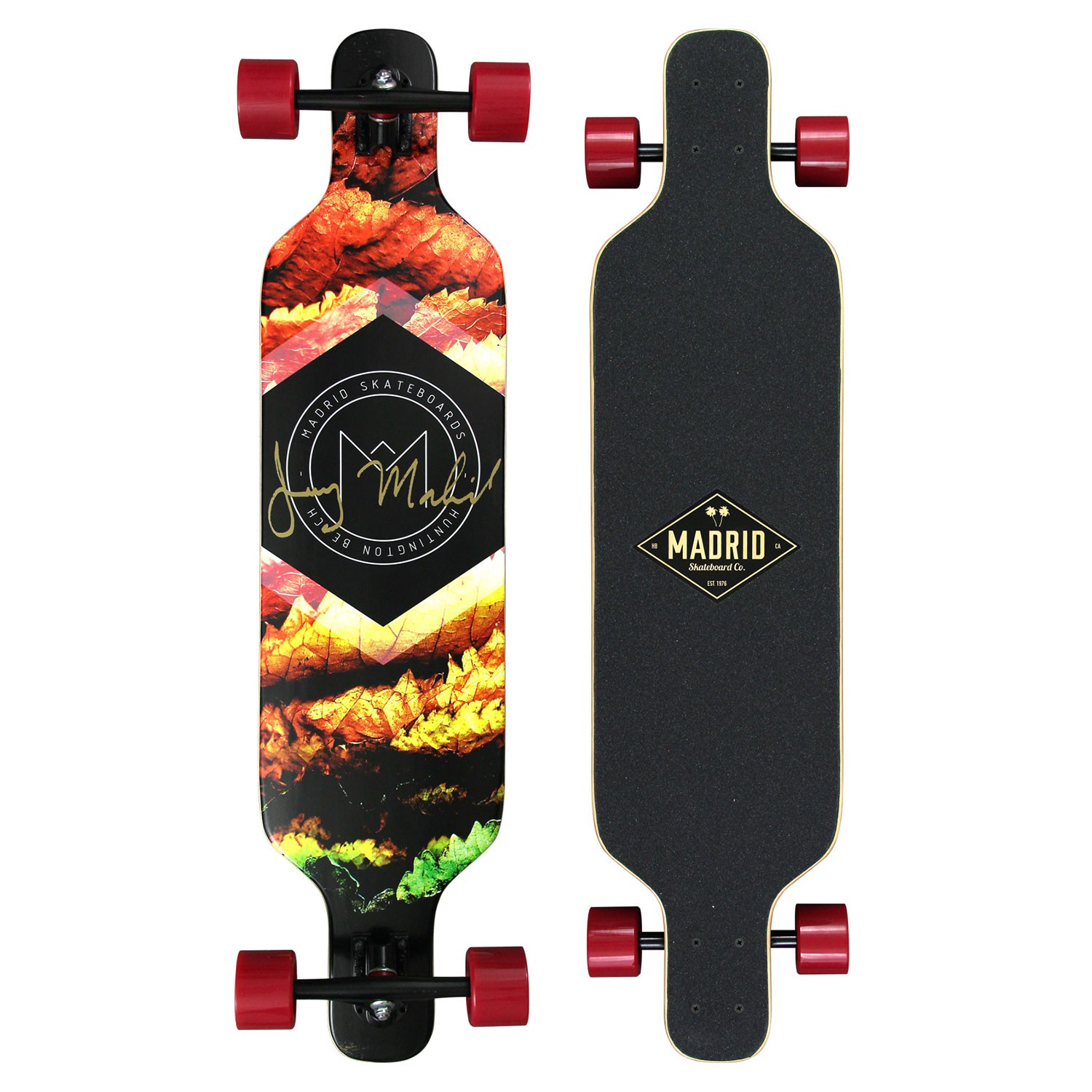 Longboard Madrid Trance Top-Mount autumn