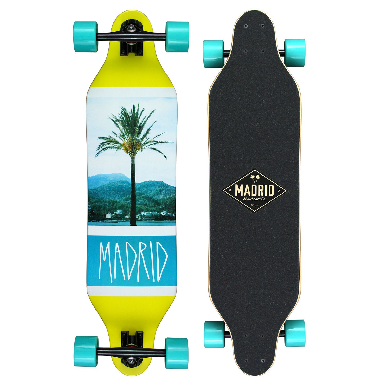 Longboard Madrid Weezer coastline
