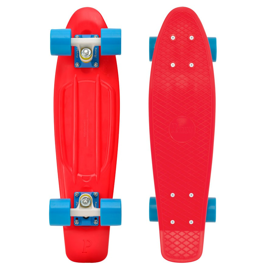 "Longboard Penny Classic 22"" Penny red/blue"
