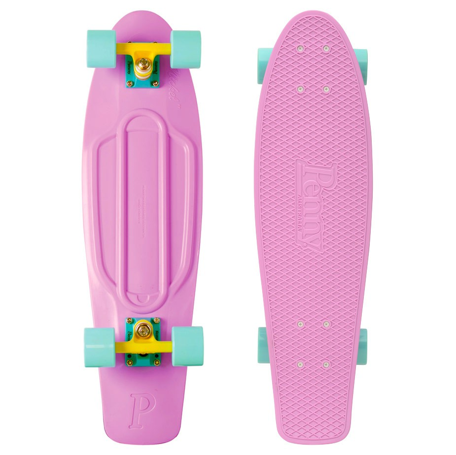 "Longboard Penny Classic 27"" Nickel pastel lilac"