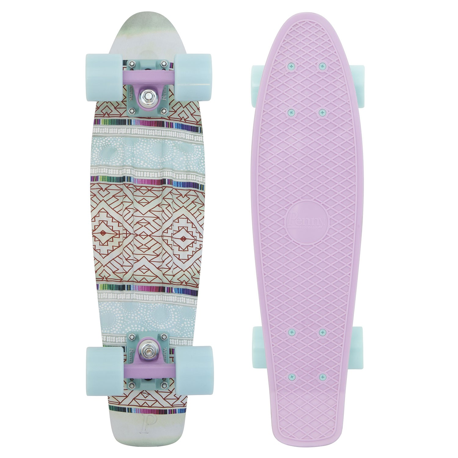 "Longboard Penny Graphics 22"" Penny patchwork"