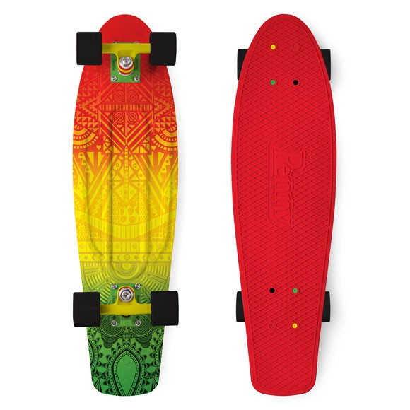 "Longboard Penny Graphics 27"" Nickel vibes"
