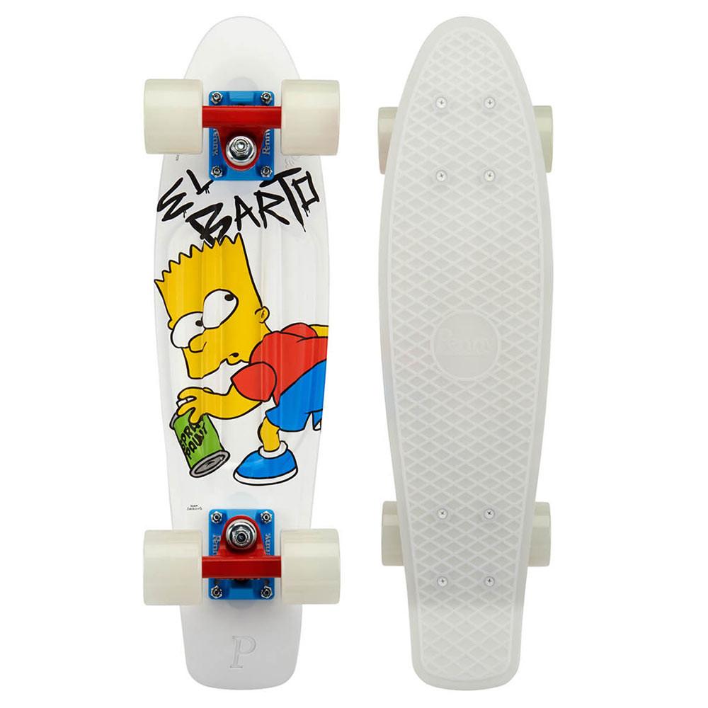"""Longboard Penny The Simpsons 22"""" el barto"""