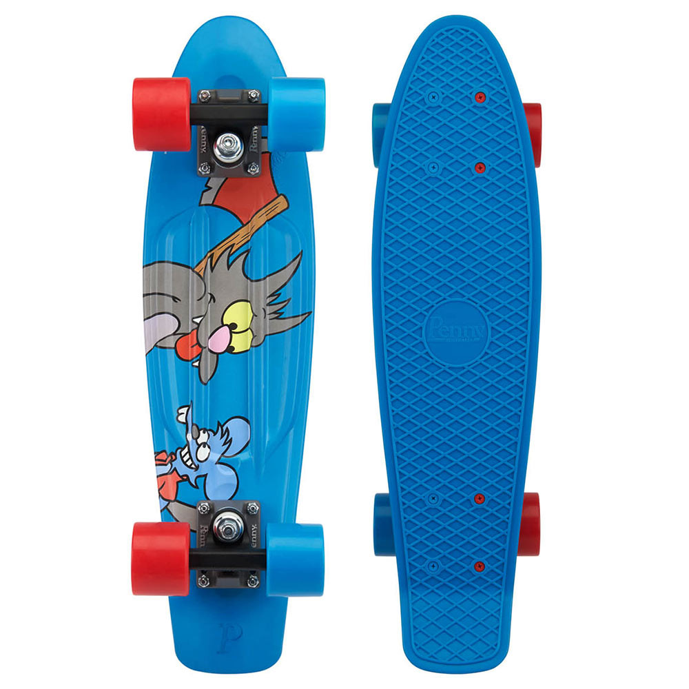"Longboard Penny The Simpsons 22"" itchy & scratchy"