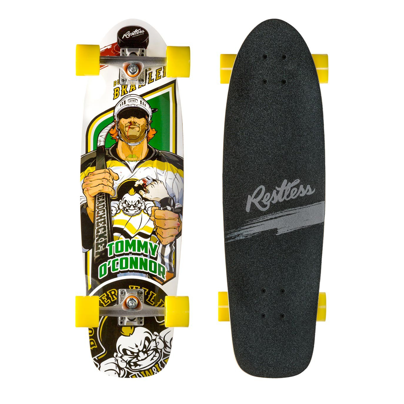 Longboard Restless Rocksteady Brawlers