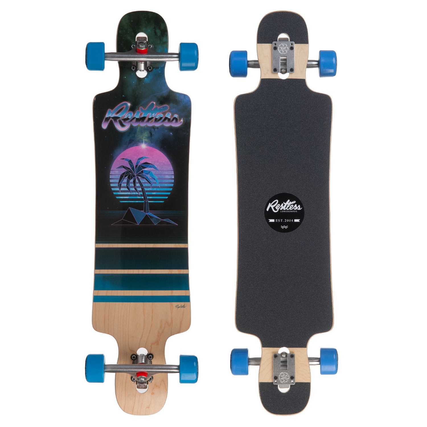 Longboard Restless Splinter 40 palm