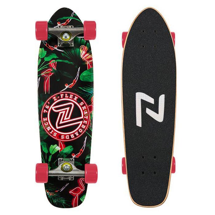 Longboard Z-Flex Cruiser 27'' neon flamingo