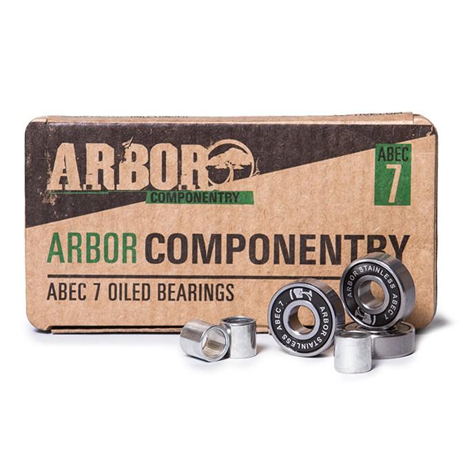 Ložiska Arbor Stainless Steel Abec 7 vel.ABEC 7, 8 ks 16 + doručení do 24 hodin
