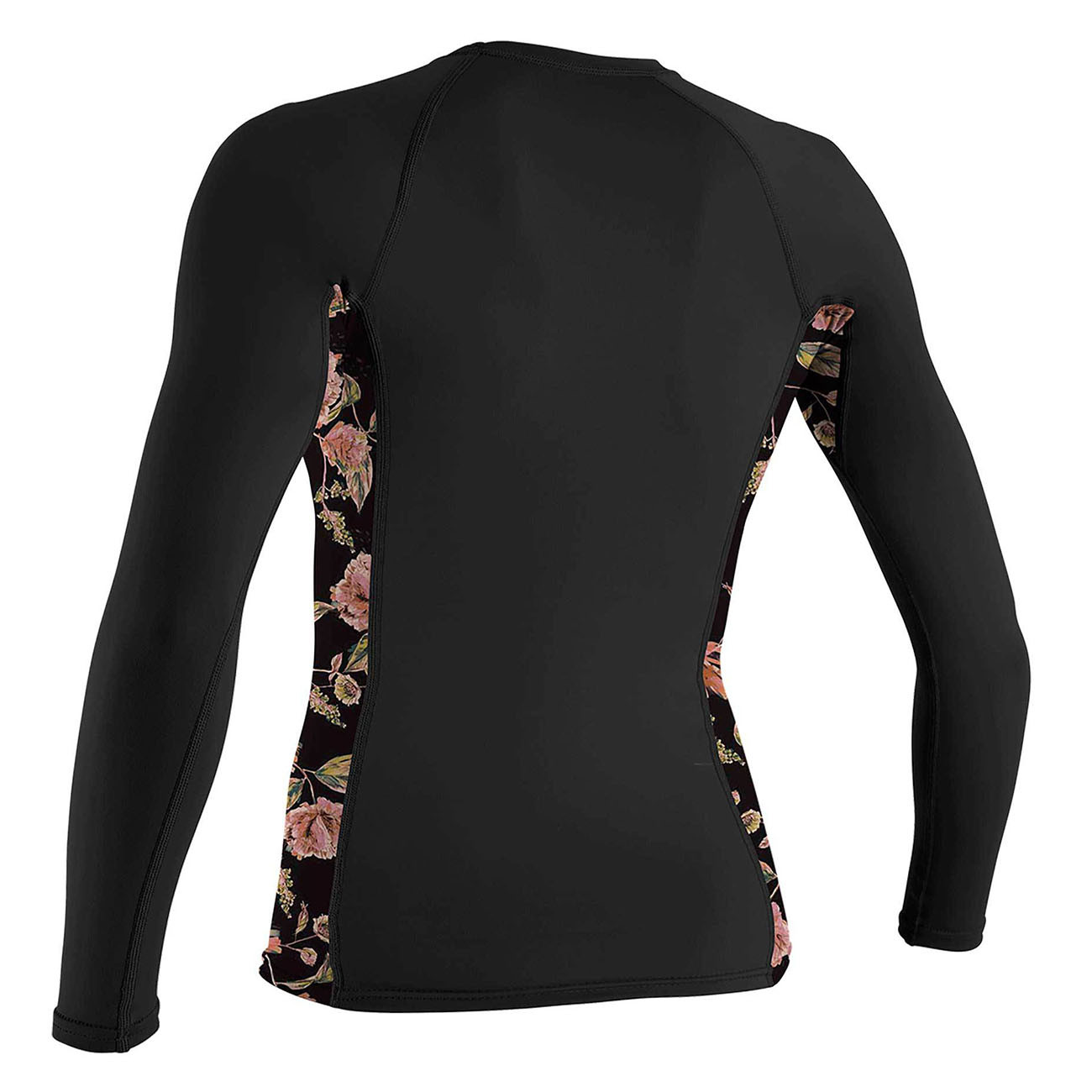 Lycra O'Neill Wms Side Print L/s Rash Guard