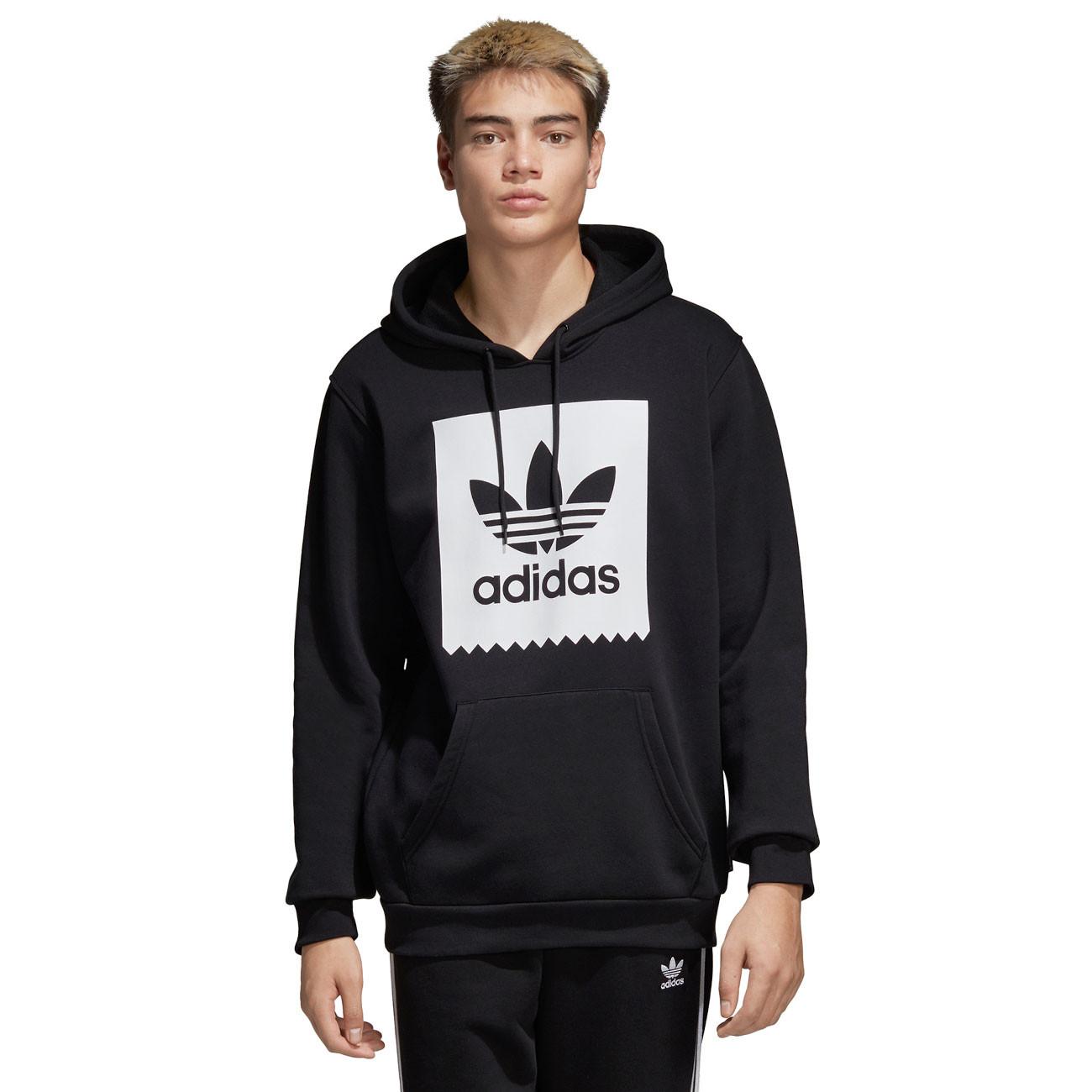 8f20f7f93ed65 Hoodie Adidas Solid BB Hood black white