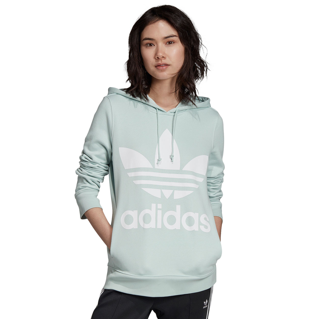 Bluza Adidas Trefoil Hoodie black | Snowboard Zezula