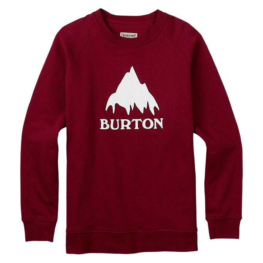 Mikina Burton Classic Mountain Crew wino