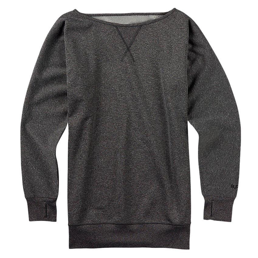 Mikina Burton Crimson Fleece true black heather