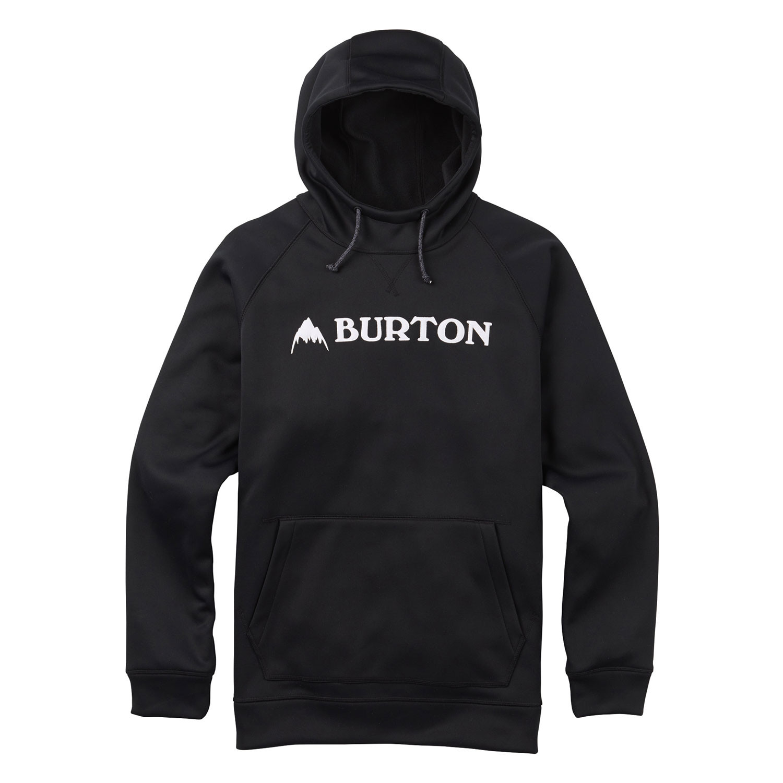 Mikina Burton Crown Bonded Pullover true black