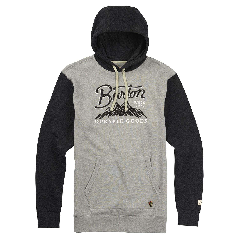 Mikina Burton Front Range grey heather