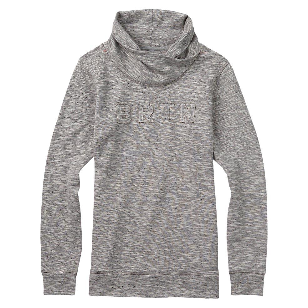 Mikina Burton Josie Mockneck Pullover grey heather