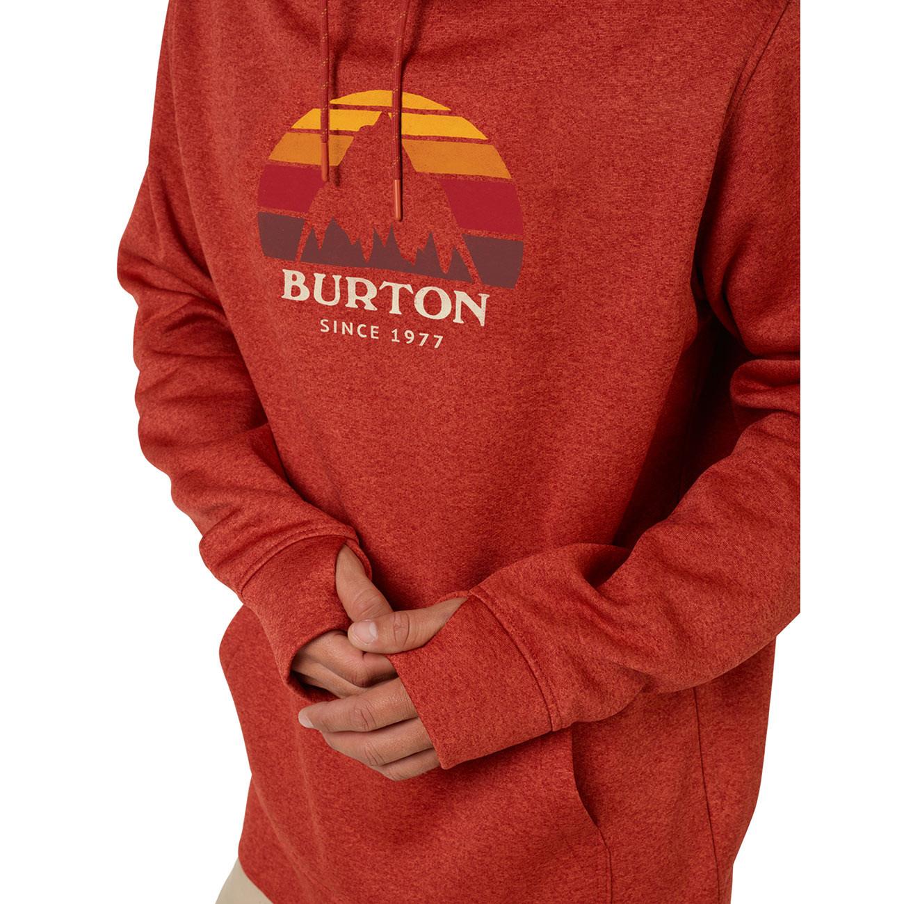 427c76d4e Tech Hoodie Burton Oak Pullover bossa nova heather