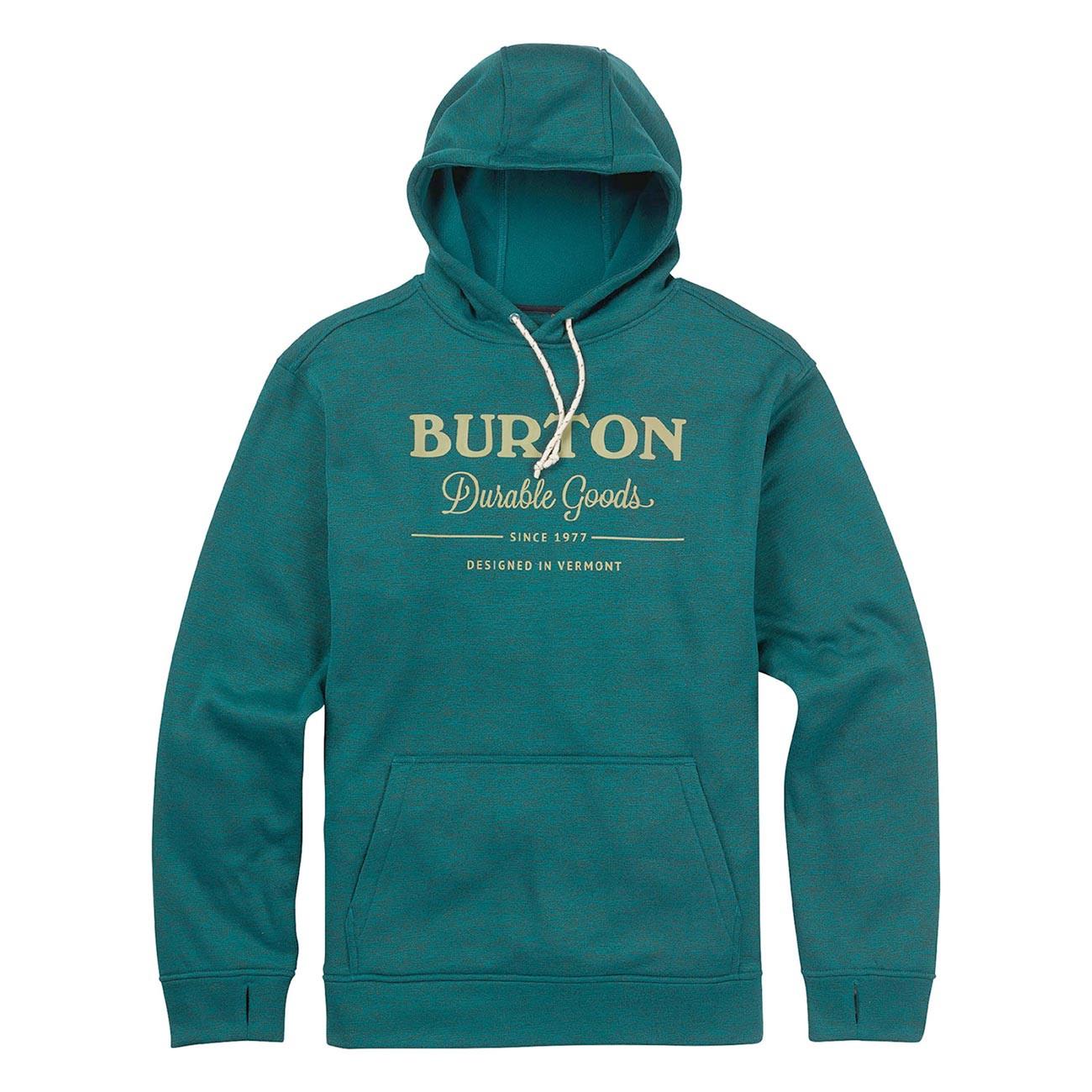 Mikina Burton Oak Pullover Hoodie jasper heather