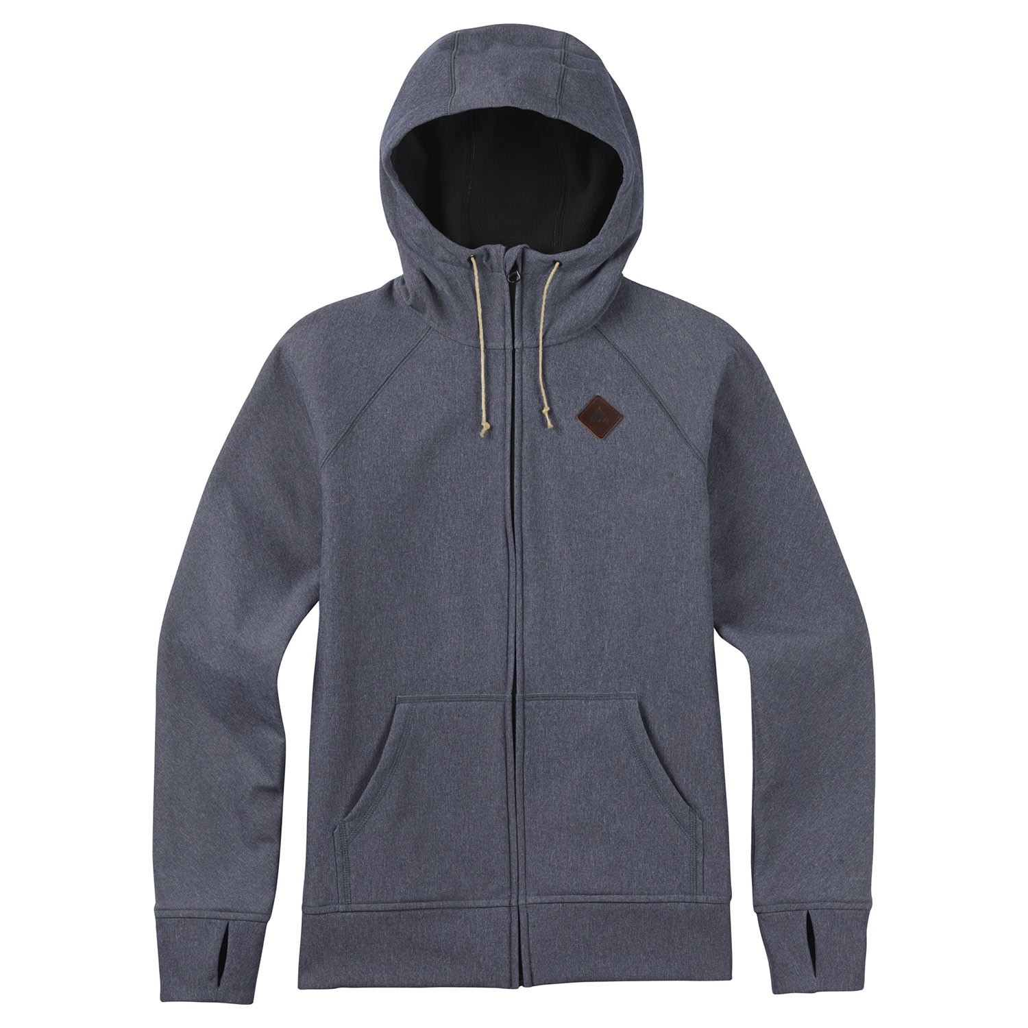 Mikina Burton Scoop Hoodie denim heather