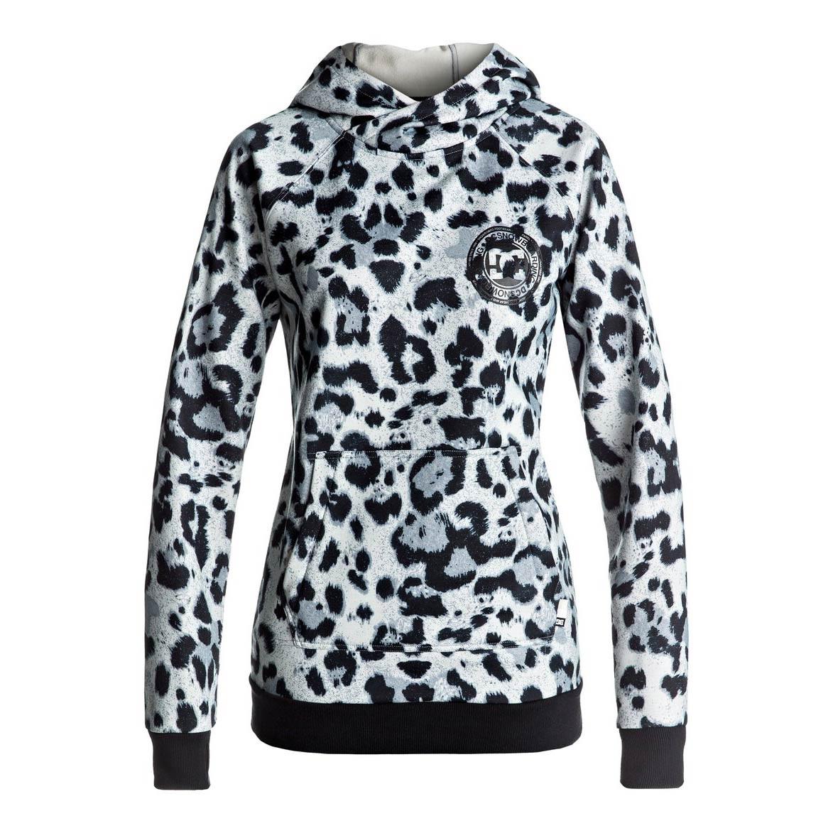 Mikina DC Allstar Po snow leopard