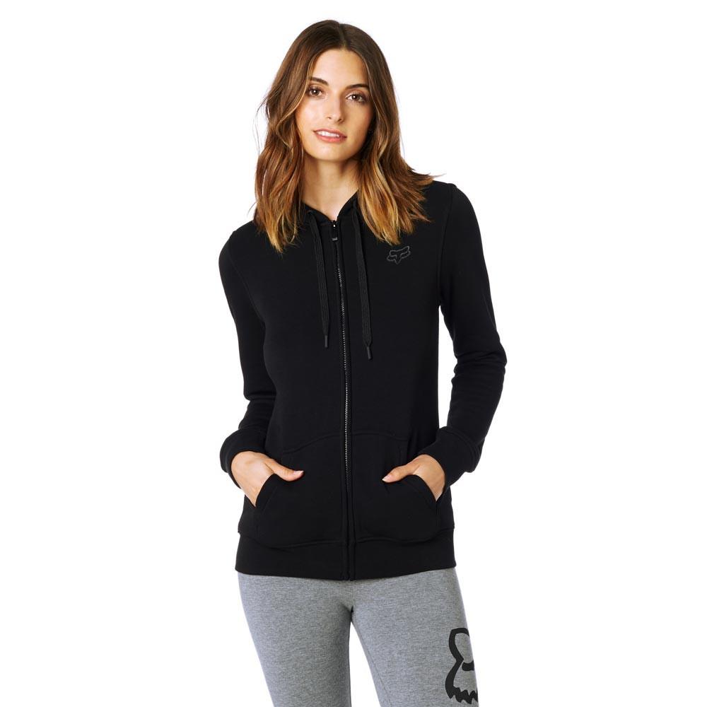 Mikina Fox Affirmed Zip Fleece black
