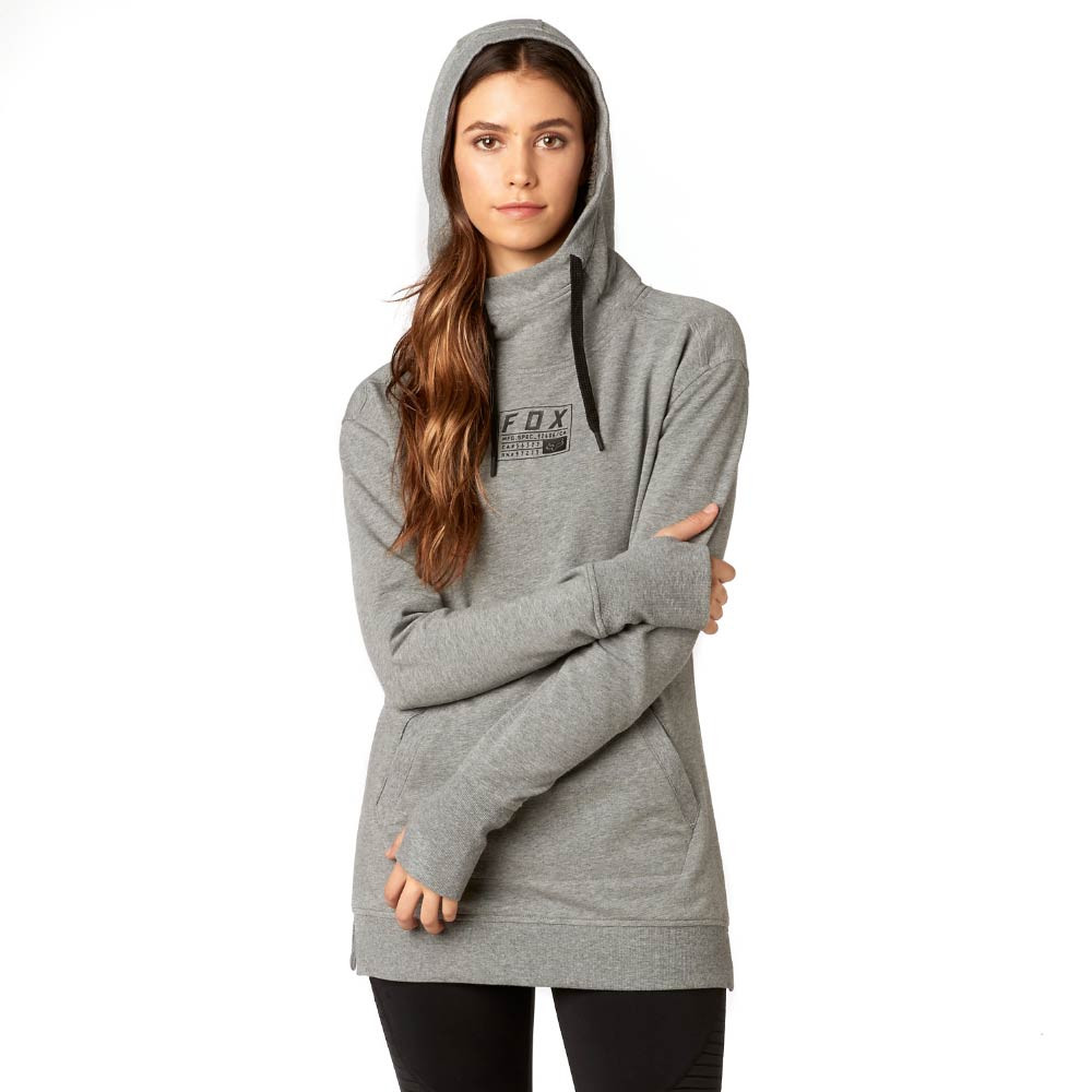 Mikina Fox Eager Hoody heather graphic