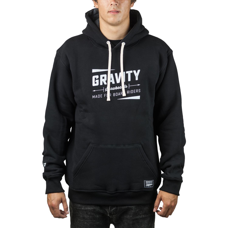 Mikina Gravity Jeremy black
