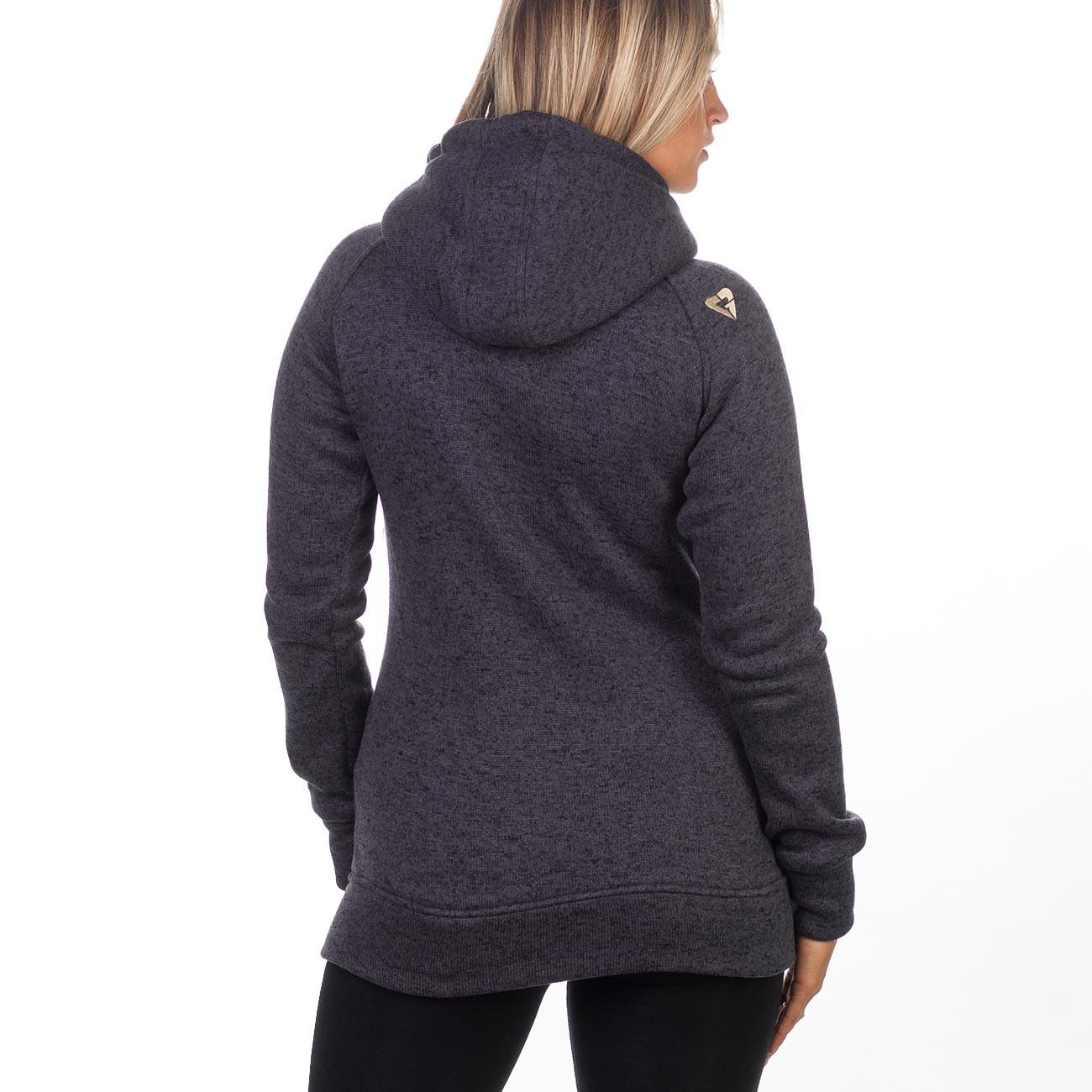 d1383a8540 Technická mikina Gravity Lola Sweater black heather