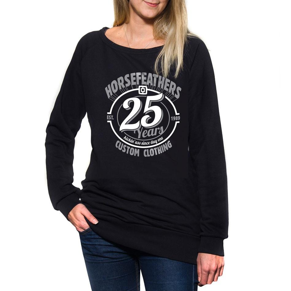 Mikina Horsefeathers 25Hf Wms Crew black