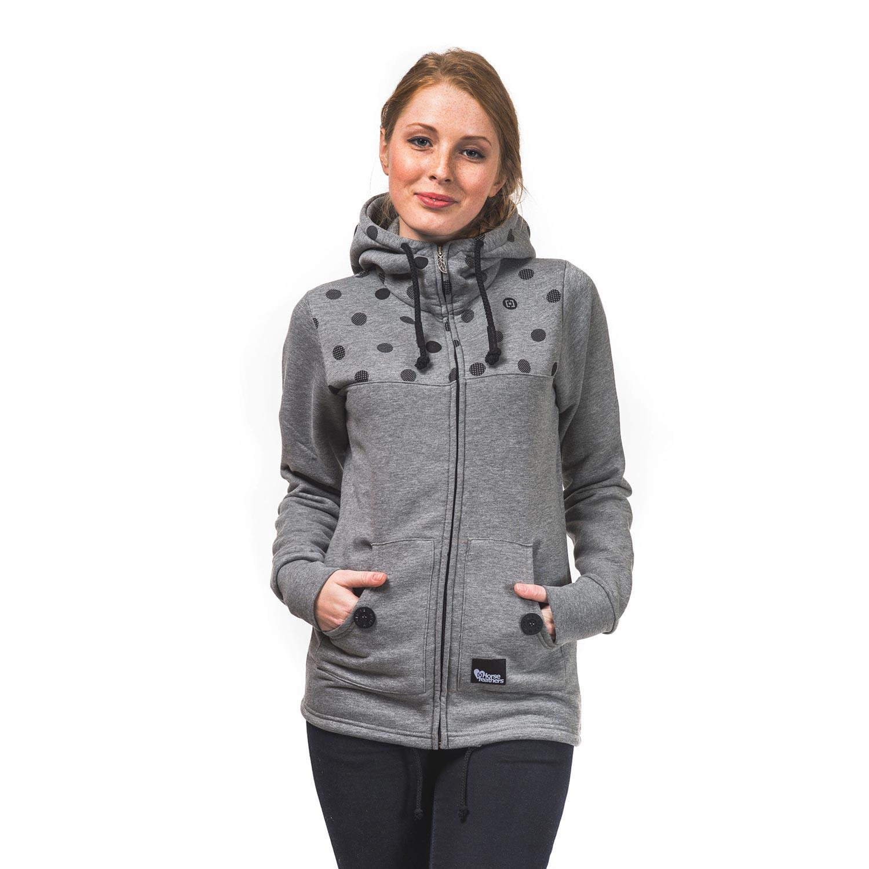 Mikina Horsefeathers Ariane heather gray