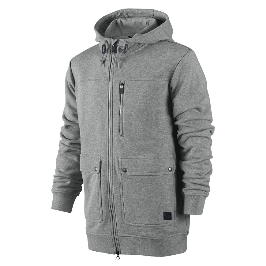 72ed279376e4 Nike 6.0 Parka Hoodie Ft dk grey heather