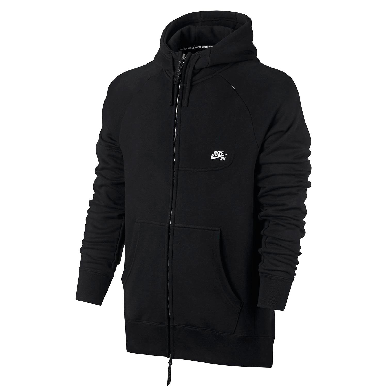 Mikina Nike SB Everett Hoodie black/white