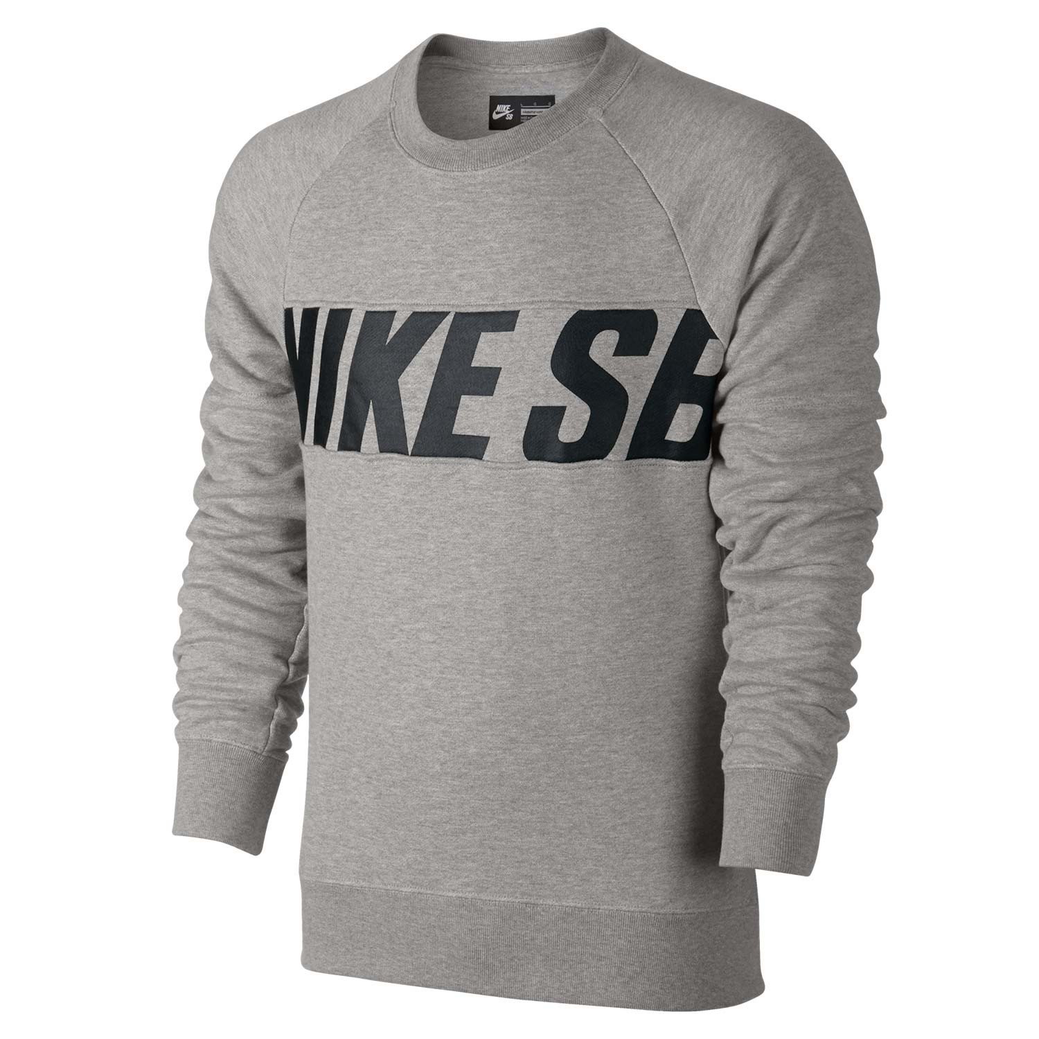 546a87c64e89 Nike SB Everett Motion Crew dk grey heather black