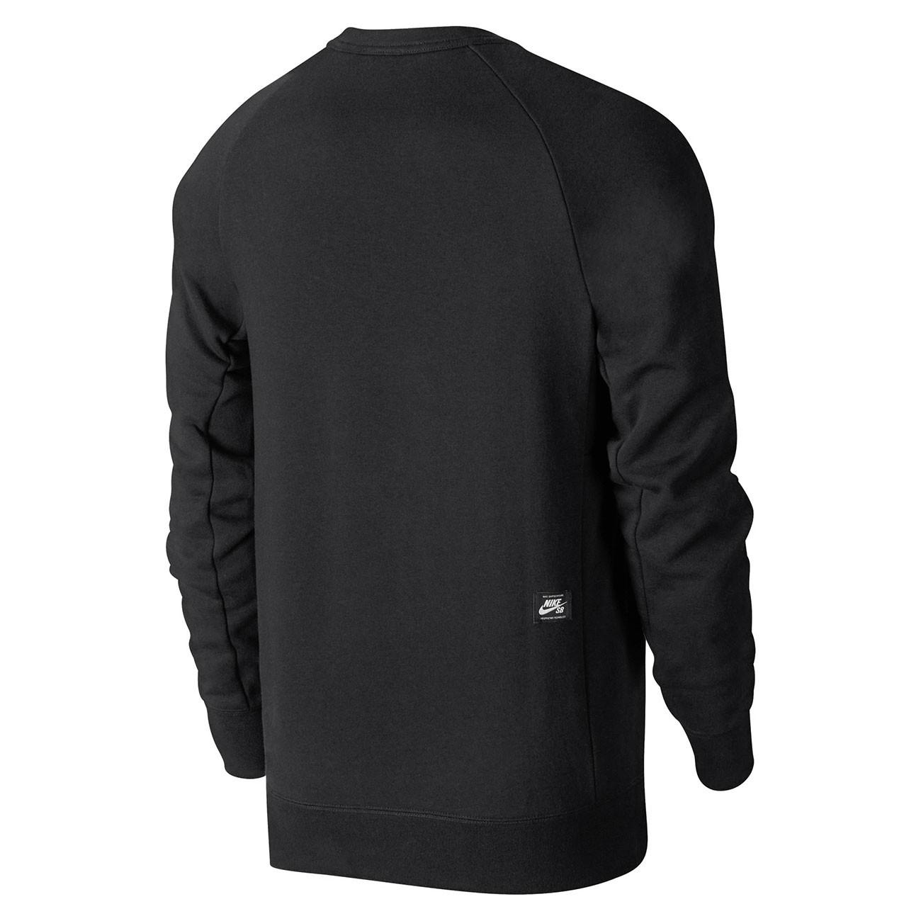 12ebfb1c4c4 Mikina Nike SB Icon Crew black white