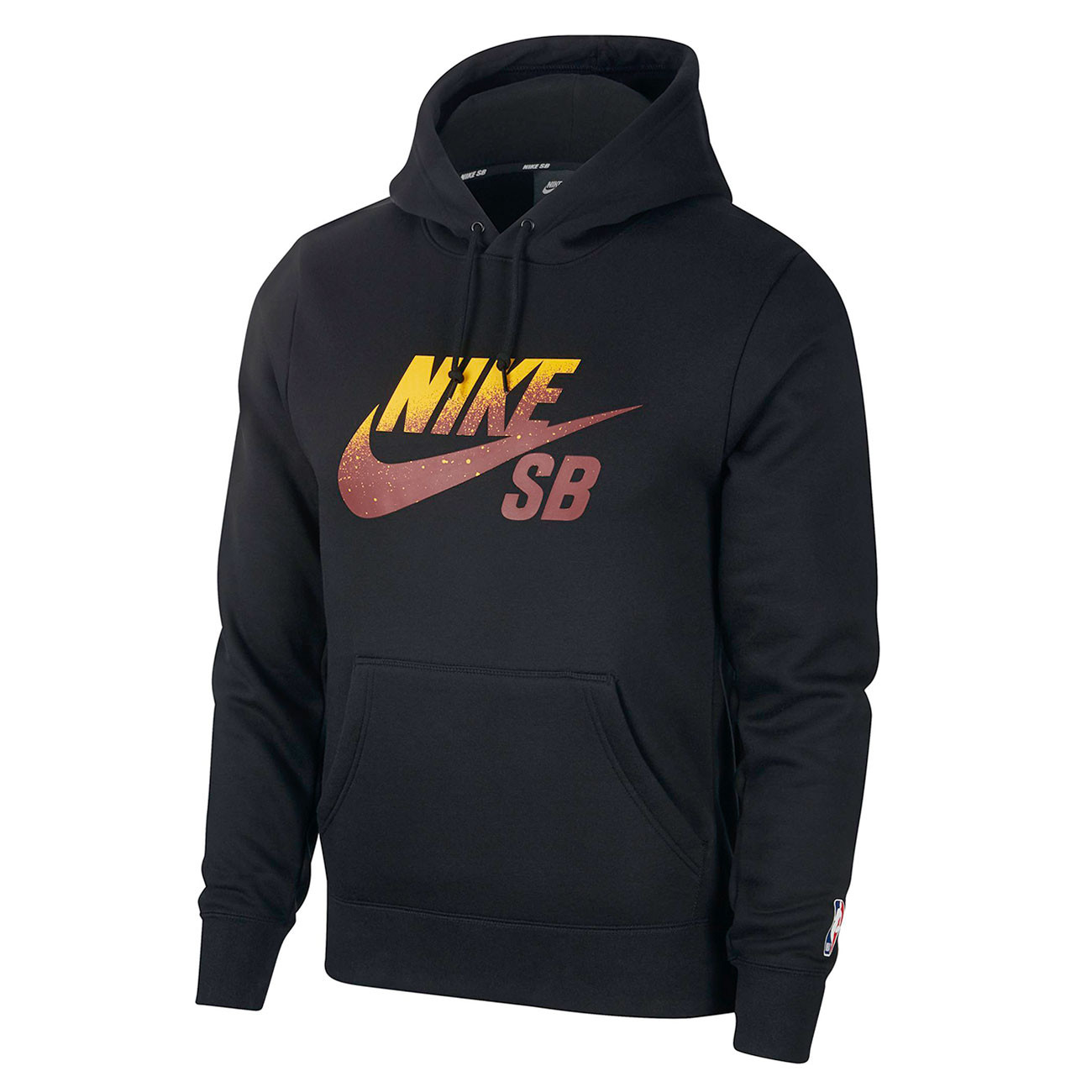 c98f80e70a Hoodie Nike SB Icon Pullover black team red