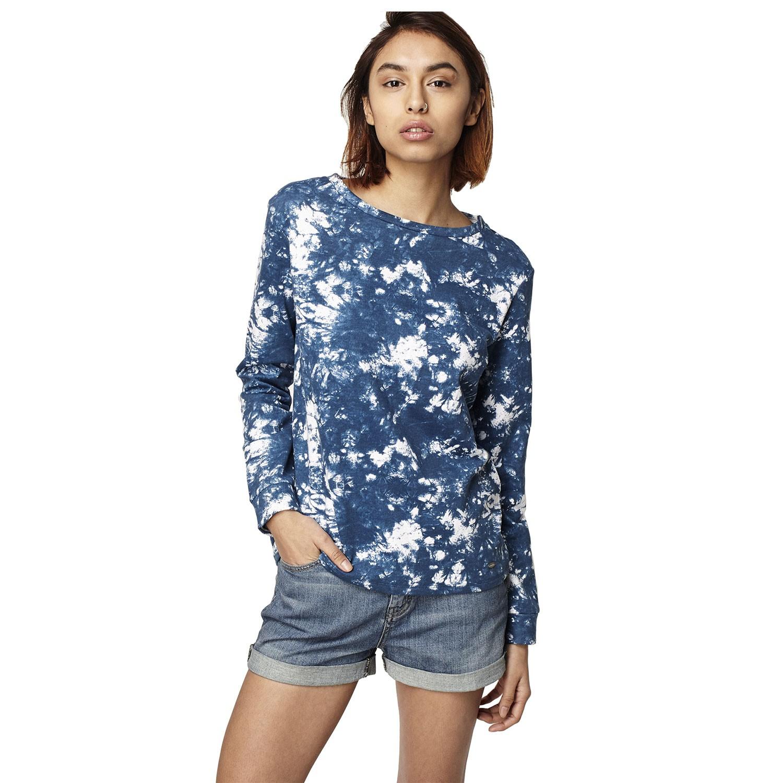 Mikina O'Neill Print Crew Sweatshirt blue aop