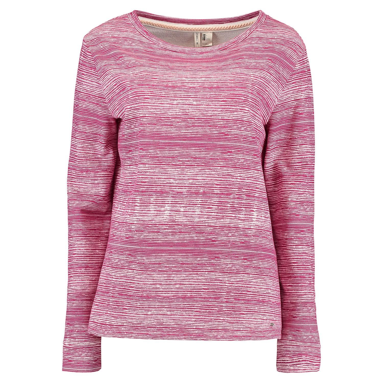 Mikina O'Neill Print Crew Sweatshirt white aop w/red