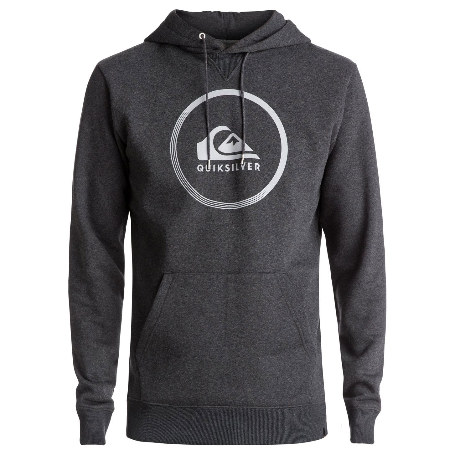 Mikina Quiksilver Big Logo Hood dark grey heather