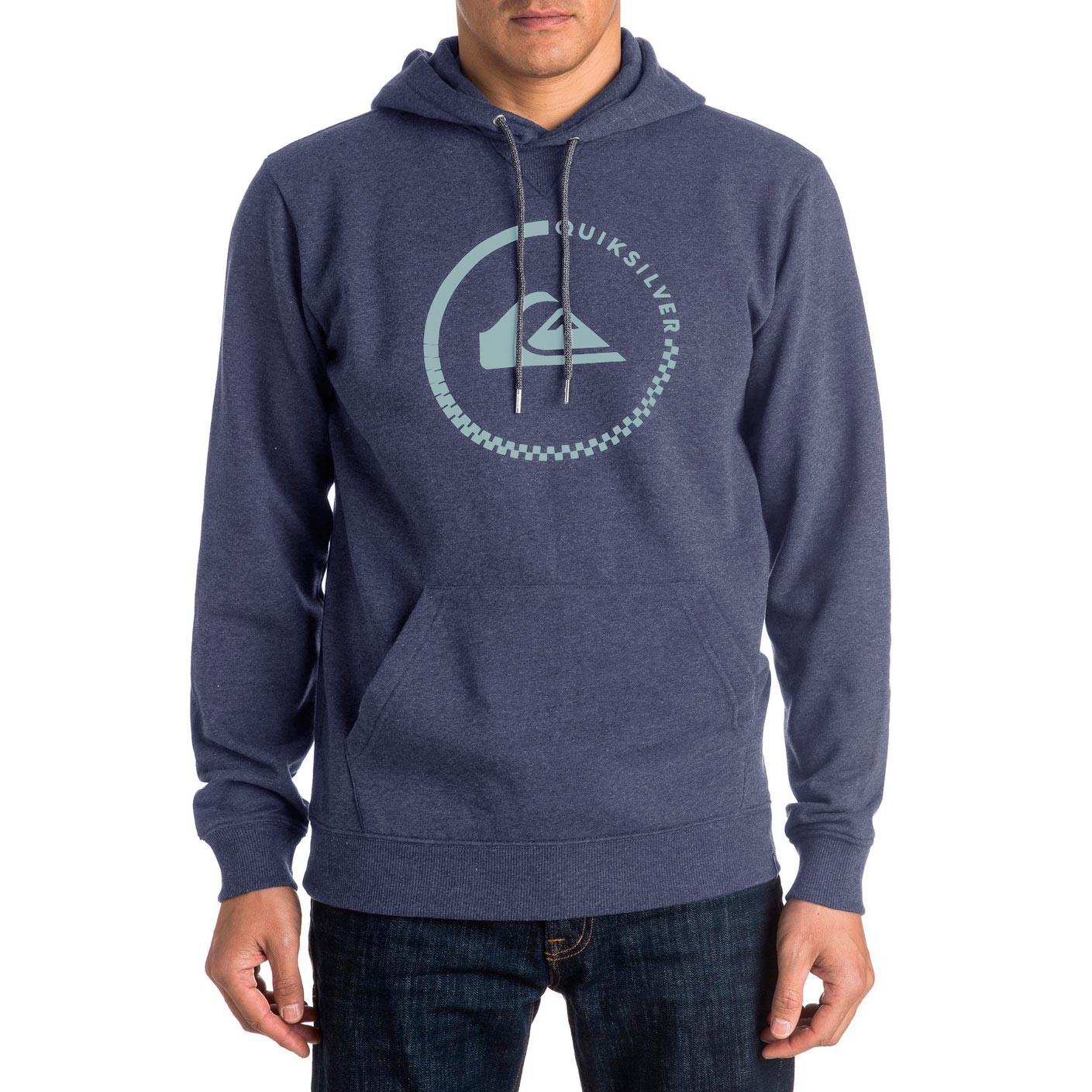 Mikina Quiksilver Big Logo Hood navy blazer heather