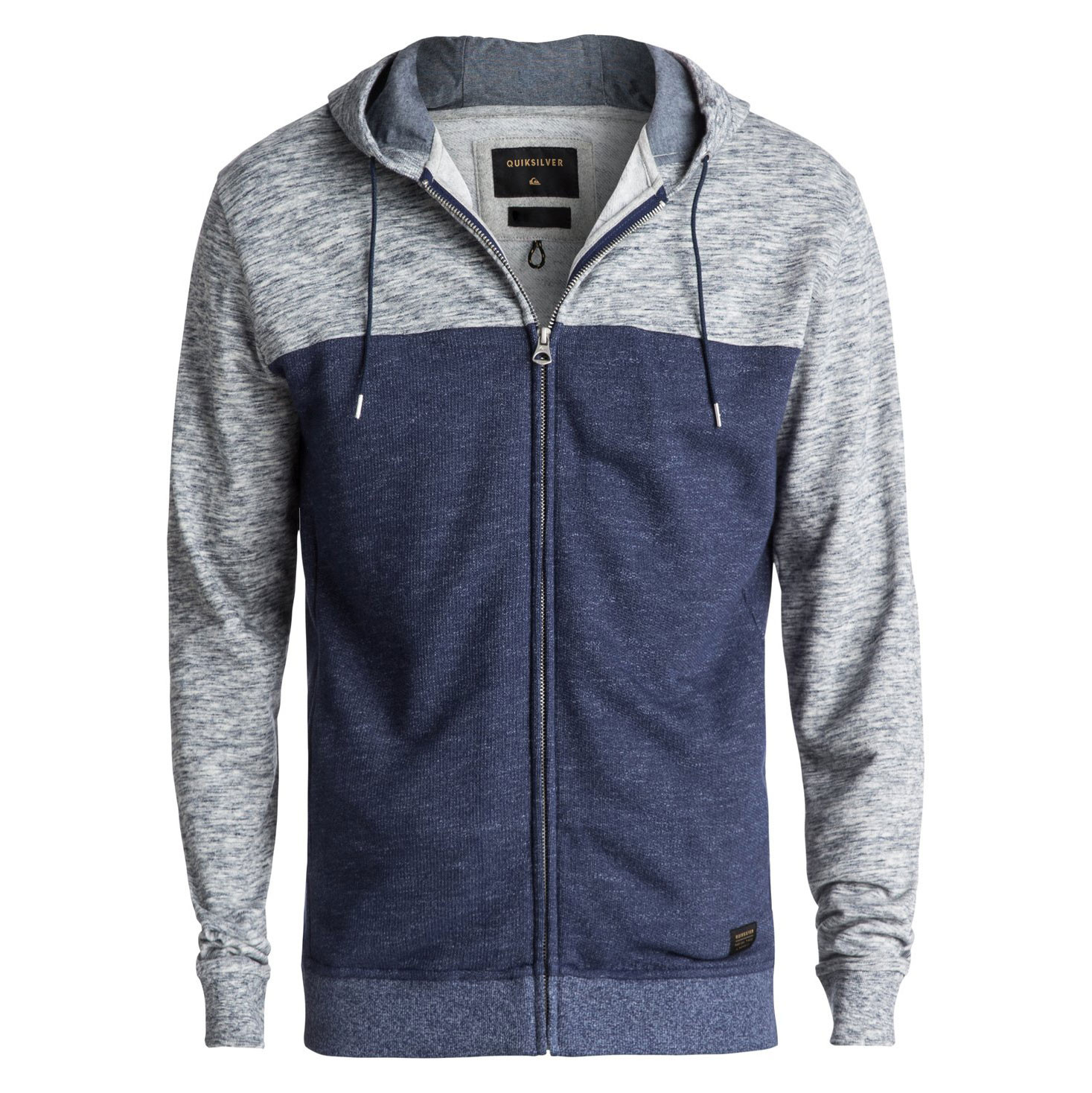Mikina Quiksilver Crystal Cave Zip medieval blue