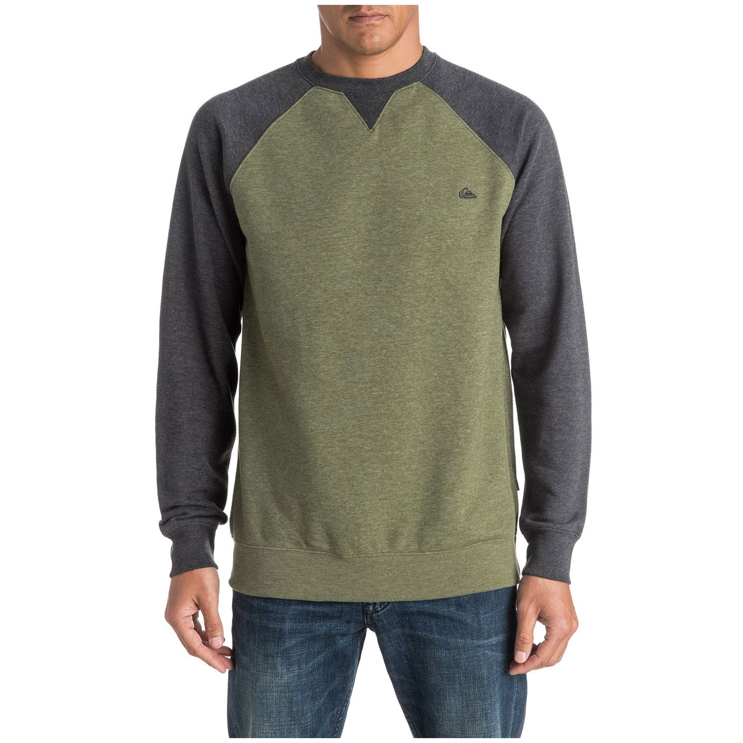 Mikina Quiksilver Everyday Crew four leaf clover heather