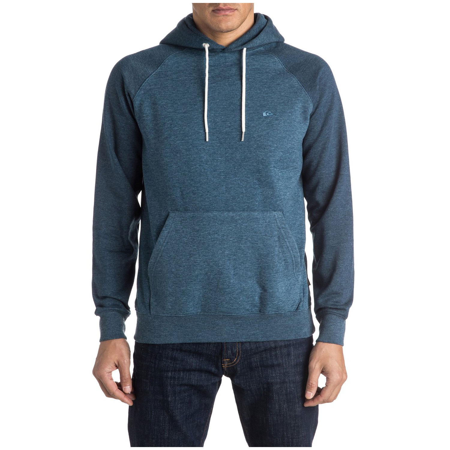 Mikina Quiksilver Everyday Hood dark denim heather