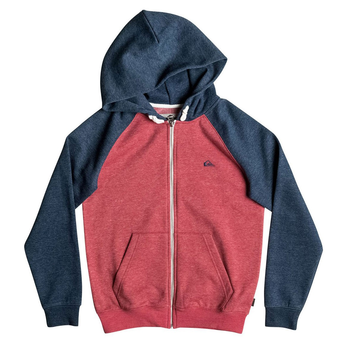 Mikina Quiksilver Everyday Zip Youth cardinal heather