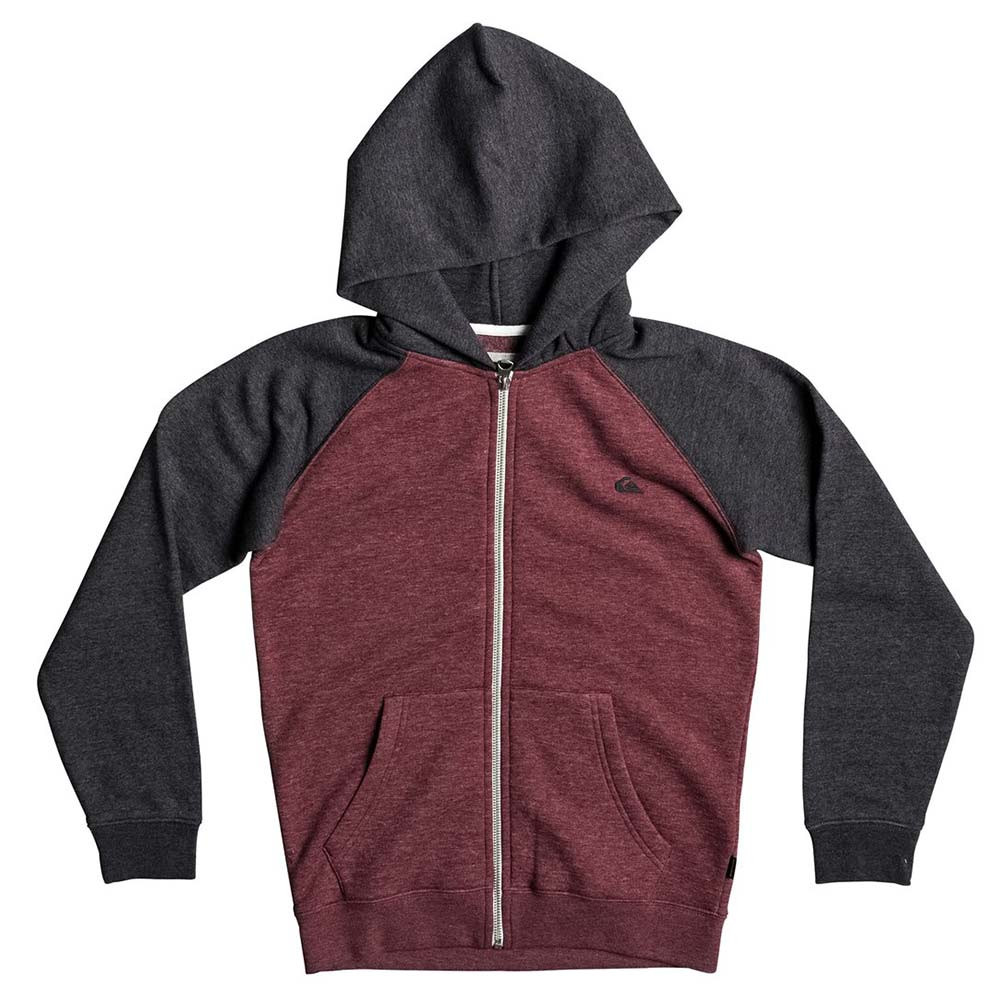 Mikina Quiksilver Everyday Zip Youth pomegranate heather